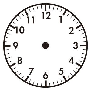 時計の読み方 練習プリント|幼児教材・知育プリ …